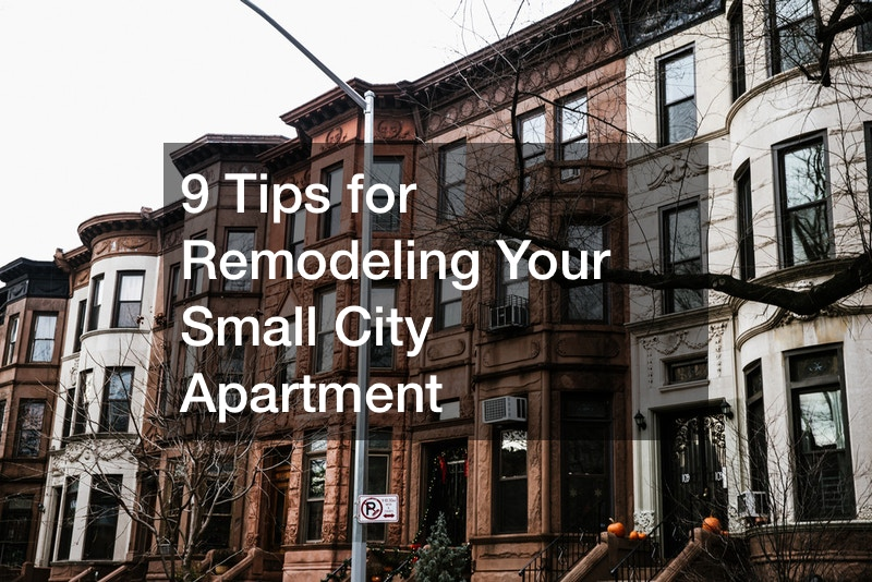 remodeling a rental apartment